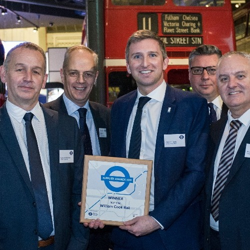 Transport for London says William Cook Rail is Best SME thumbnail