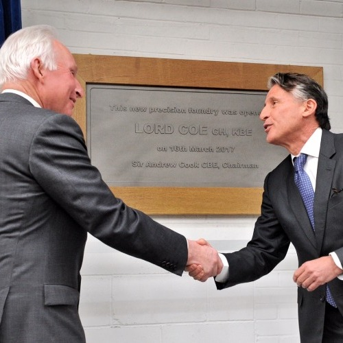 Lord Coe opens William Cook's new Precision factory thumbnail