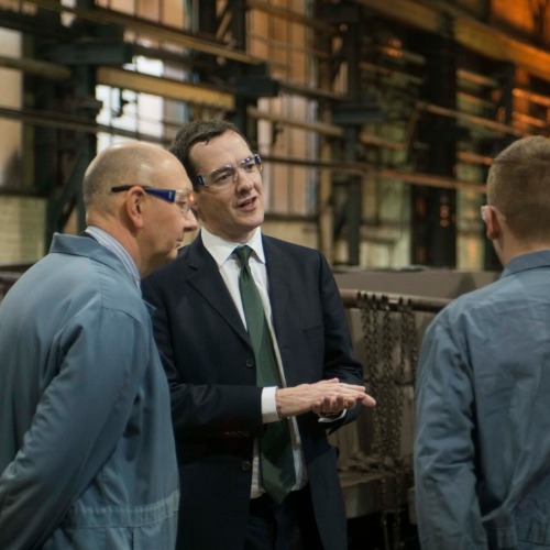 Former Chancellor George Osborne visits William Cook Rail thumbnail