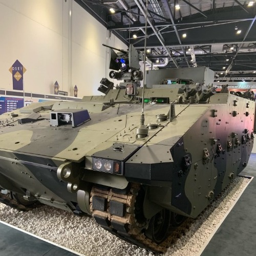 Cook Defence Systems is track supplier of choice at DSEI 2019 thumbnail