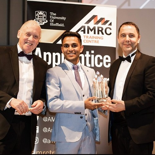 William Cook recruit is AMRC Training Centre's Apprentice of the Year thumbnail
