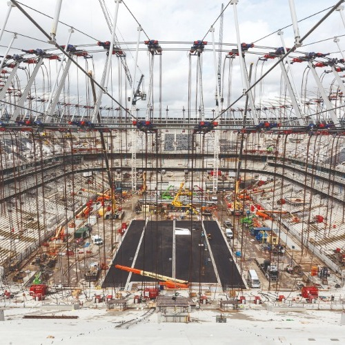 William Cook supplies critical steelwork for new Spurs stadium thumbnail